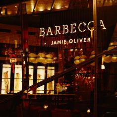 Chef Jamie Oliver and barbeque expert Adam Perry Lang have paired up to launch Barbecoa restaurant and butchery, the first Barbecue steakhouse in the UK.