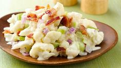 "Gluten-Free ""Potato"" Cauliflower Salad - WIthout the Bacon please!"