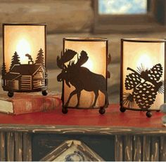 Log Home Lighting Options - Everything Log Homes Cabin Lighting, Rustic Lighting, Home Lighting, Cabin Homes, Log Homes, Moose Decor, Log Cabin Living, Rustic Light Fixtures, Cozy Cabin