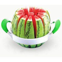 Get kitchen accessories gadgets Watermelon Slicer Fruit Cutter utensilios de cozinha cortador de melancia Watermelon Cutter, Watermelon Slicer, Honeydew Watermelon, Watermelon Patch, Watermelon Art, Watermelon Carving, Cool Kitchen Gadgets, Cool Gadgets, Cool Kitchens