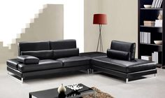 All You Need to Know About Leather Sectional Sofa – Sofa Design 2020 Sectional Sofa Sale, Leather Sectional Sofas, Sectional Furniture, Sofa Couch, Comfy Sofa, Comfortable Sofa, Black Sectional, Sofa Set Designs, Sofa Design