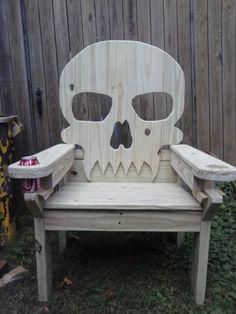 Adirondack Skull Chairs for Sale