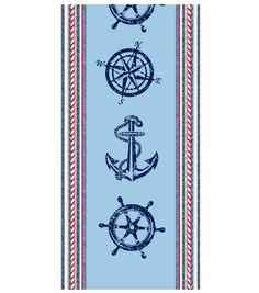 Nautical Woven Hand Towel, , hi-res