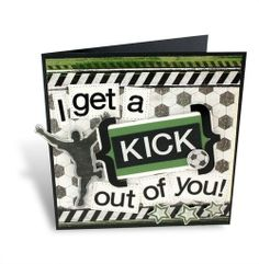 Soccer Scrapbooking Card Idea from Creative Memories
