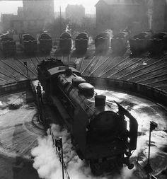 Robert Doisneau. La pleine lune du Bourget 1946