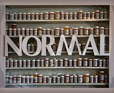 I want to feel Normal