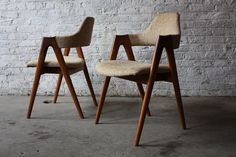 Standout Danish Modern Kai Kristiansen Compass Chairs (8)-(SVA Mobler, Denmark, 1960) by Kinzco, via Flickr