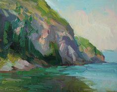 Kathryn Townsend Painting Studio