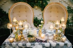 The most epic sweetheart table for an elegant, eclectic, vintage wedding at the Oxford Exchange in Tampa! | Sunglow Photography