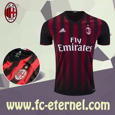 fc-eternel:Maillot de Foot Milan AC Domicile 16/17 Thai Edition