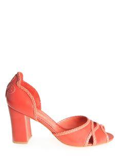Scarpin Peep Toe Sisley -  SARAH CHOFAKIAN                 $ 995,00