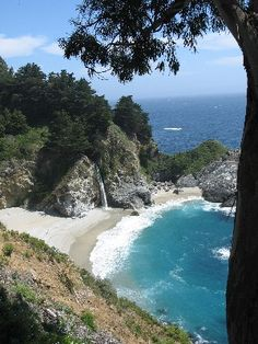 Big Sur, one of California's most scenic locations: http://californiaweekend.com/california-vacation/big-sur.php#