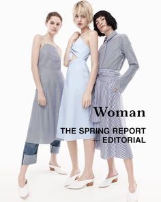 New editorial | The Spring Report. Check more in-stores and zara.com Thank you @angelpupledge @celine_bouly @heather_kemesky #zaraeditorials by zara