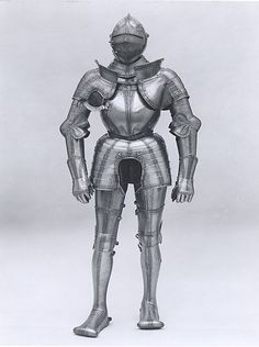 Wolfgang Grosschedel was the most famous Landshut armorer of his generation. Included among his patrons were the Holy Roman Emperor and Philip II of Spain. These armors for man and horse constitute superb examples of Grosschedel's work from different periods in his career. The man's armor dates from about 1535.