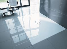 Duravit - Serie Duraplan - Platos de ducha a ras de suelo de Duravit