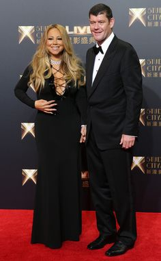 Mariah Carey and James Packer Make Rare Red Carpet Appearance Together in Macau   E! Online Mobile