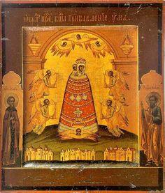 икона Божией Матери «ПРИБАВЛЕНИЕ УМА» (икона Богородицы,Богоматери)