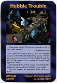 Illuminati Card Game -Hubble Trouble