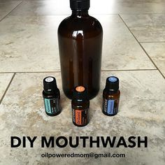 Just made more mouthwash (it takes literally 60 seconds), and am so THRILLED with my newest recipe! Usually I just do Peppermint, but since Spearmint is now available, I decided to switch it up and combine Spearmint and OnGuard. O.M.G.  I just want to use this about 20 times a day!! I love making my own mouthwash and avoiding all the junk found in the store bought stuff - dyes, artificial flavors, etc, that do more harm for your mouth than good. And it's literally THE easiest DIY you may…