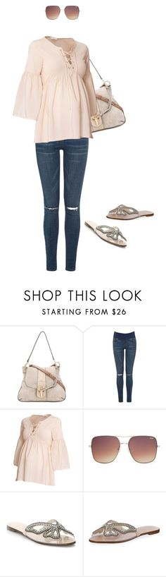 """""""Preggers Mama Style"""" by bacelarlouisa ❤ liked on Polyvore featuring Chloé, Topshop, H&M and Sophia Webster"""