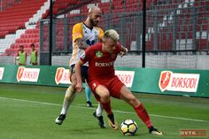Makrai Gábor nem mindennapi góllal egyenlített a Puskás Akadémia ellen