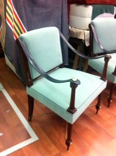 Maison Ramsay Autographed 1940's Classic Chairs