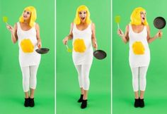 8 DIY Maternity Halloween Costumes for Pregnant Women via Brit + Co. Make Yourself Halloween Costumes, Pregnant Halloween Costumes, Diy Costumes, Maternity Halloween, Costume Ideas, Halloween Ideas, Adult Halloween, Food Costumes, Couple Costumes