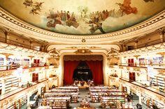 El Ateneo library in Buenos Aires.