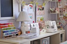 Can you imagine of having an entire room dedicated to your crafts ?