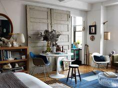 * wunderkammer *: Un apartamento de 35 m2 en Manhattan /// Ein Apartment mit 32 m2 in Manhattan /// An apartment of 35 m2 in Manhattan