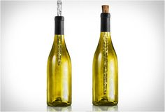 The corkcicle! Keeps wine cool for 45 minutes (surely you can drink a bottle by then)!  #wine