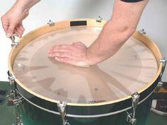 Bass drum tuning
