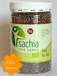 Was ist Chia bzw Chiasamen - was macht man damit - gesundheitliche Wirkung - Rezepte - Inhaltsstoffe - plus Chia Gewinnspiel Coconut Water, Superfoods, Seeds, Fiber, Vegetables, Drinks, Cooking, Healthy, Recipes