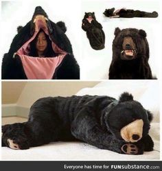 My next sleeping bag when I go camping