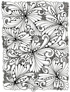 Pattern zentangle