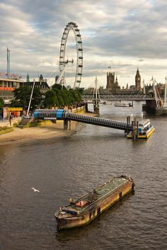 View from Waterloo Bridge,London