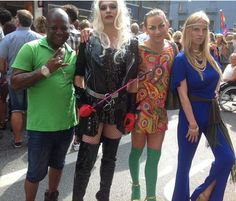 PrimeParrot: Photos: Charly Boy attends Stockholm Gay Pride Cha...