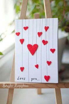 diy birthday cards for boyfriend Diy Cards For Boyfriend, Diy Birthday Card For Boyfriend, Boyfriend Crafts, Boyfriend Ideas, Ideal Boyfriend, Birthday Cards For Her, Love Valentines, Valentine Day Cards, Valentine Gifts