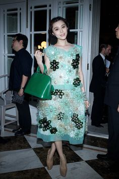 Fan Bing Bing attends the Louis Vuitton Autumn/Winter 2012 fashion show and flagship store opening in Shanghai, China on July 19, 2012