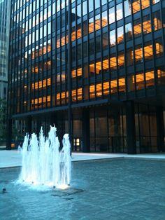 Seagram Building, NYC, 2011; Photo: Philip M. Tusa.
