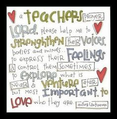 first day of school prayer for teachers | Found on crouseallstars.blogspot.com