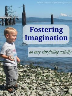 {Free Printable} Storytelling with Your Child & an Imagination: Tell a Story with Imagine Cards  #readforgood #kidlit #memetales