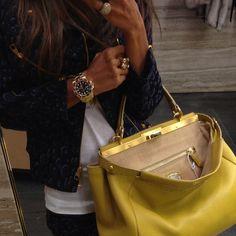 Fendi Peekaboo + Rolex