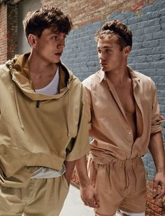 "coupdesrisque: "" Sid Ellisdon & Steven Chevrin by David Roemer - GQ Style Brazil """