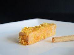 Lingotes de foie, con caramelo y sal. To be Gourmet   Gastronomía, recetas de cocina y restaurantes.