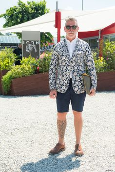 style-cool-ture:   Style in Pitti uomo, Florence Nick wooster.