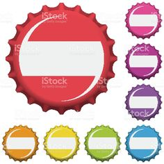 Colorful bottle caps vector royalty-free stock vector art Bottle Caps, Free Vector Art, Image Now, Soda, Alcoholic Drinks, Royalty, Colorful, Illustration, Royals