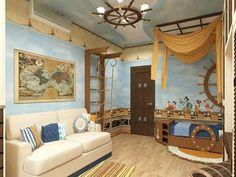 Maritime Deko für das Schlafzimmer