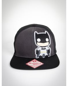 Batman Snapback Hat - WHY OH WHY DID I LOSE YOUUU :(