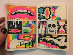 68 Ideas For Painting Ideas Canvases Trippy Trippy Drawings, Art Drawings, Sharpie Drawings, Trippy Painting, Painting & Drawing, Arte Black, Posca Art, Hippie Art, Dope Art